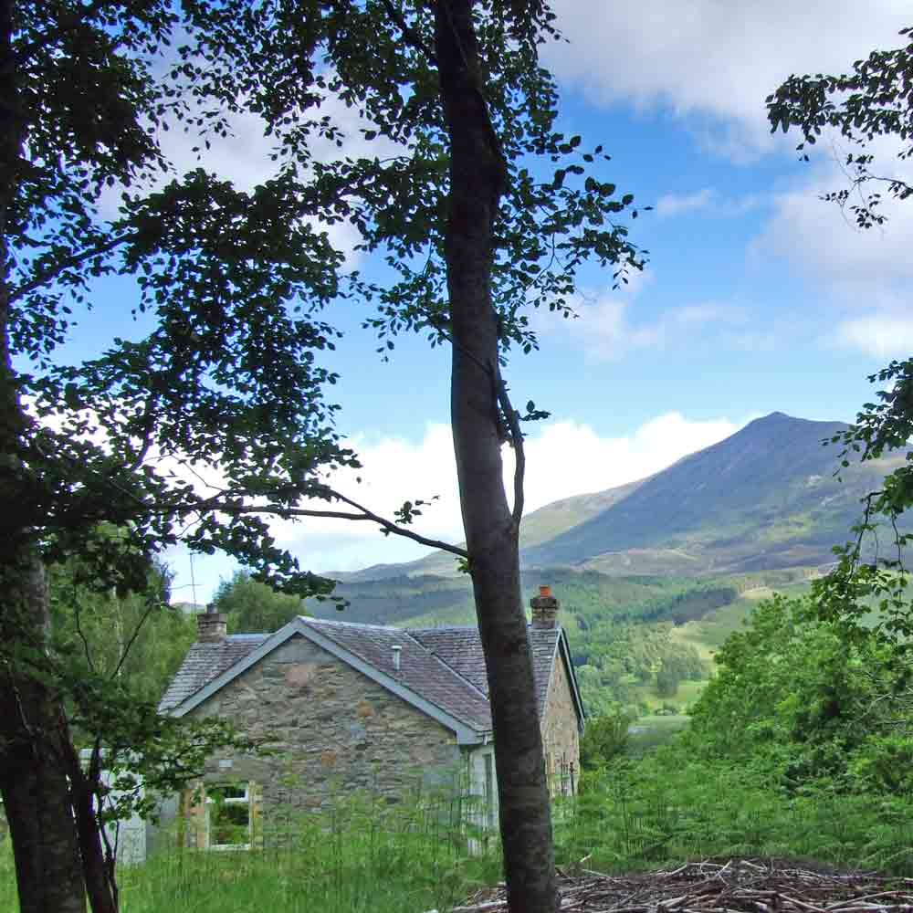 West Drumchastle looks to Schiehallion
