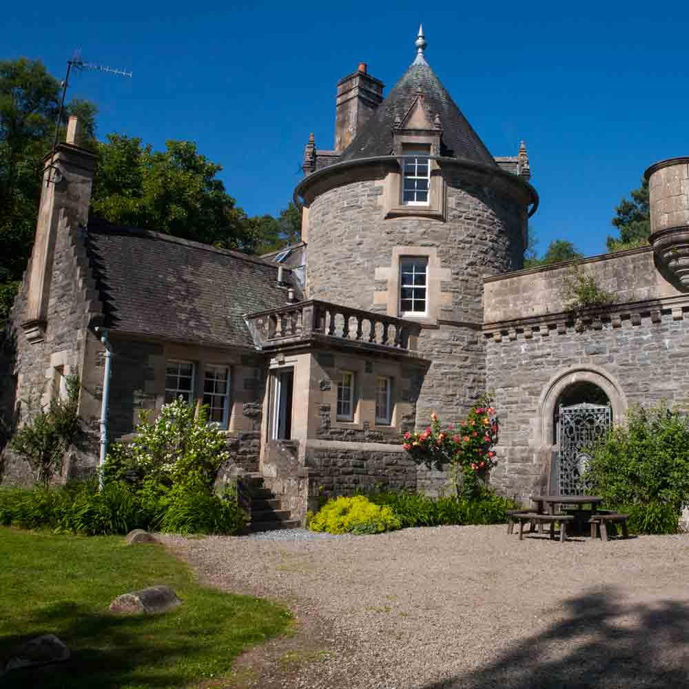 Your own private castle in the Highlands
